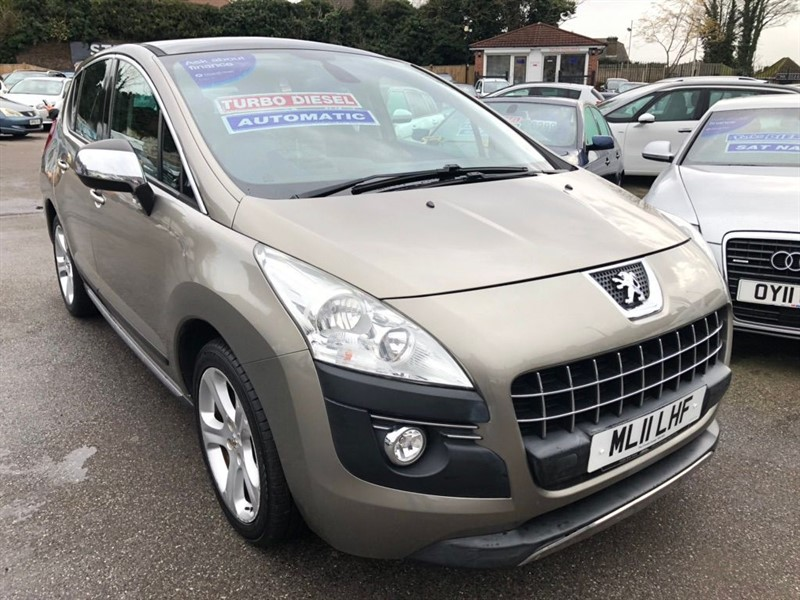 used Peugeot 3008 HDi FAP Exclusive 5dr in rochester-kent