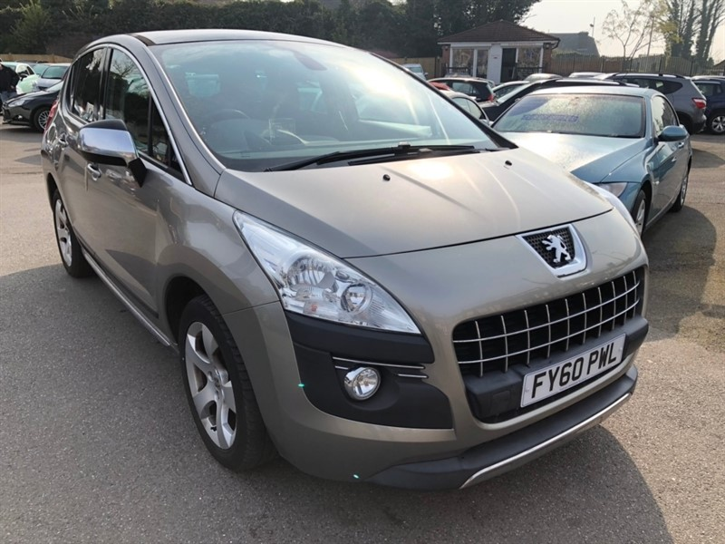 used Peugeot 3008 HDi FAP Exclusive EGC 5dr in rochester-kent