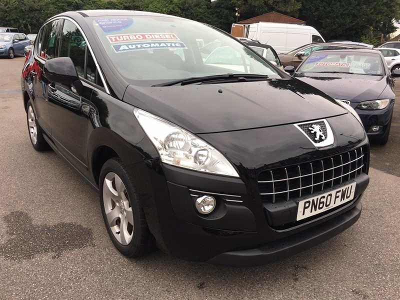 used Peugeot 3008 HDi FAP Sport SUV EGC 5dr in rochester-kent