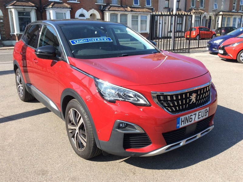 used Peugeot 3008 BlueHDi Allure (s/s) in rochester-kent