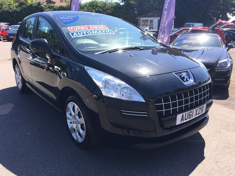 used Peugeot 3008 e-HDi Active SUV EGC 5dr in rochester-kent