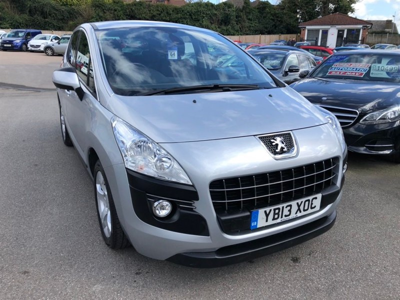 used Peugeot 3008 FAP Active EGC in rochester-kent