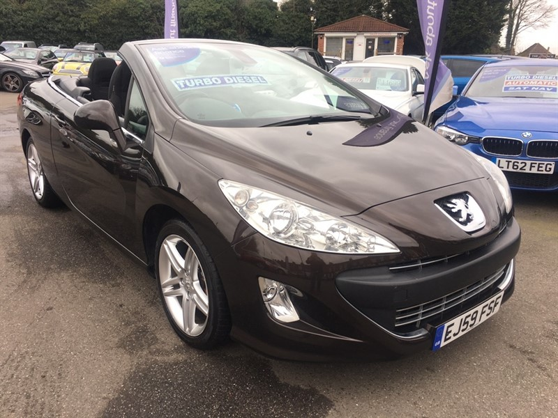 used Peugeot 308 CC HDi FAP SE 2dr in rochester-kent