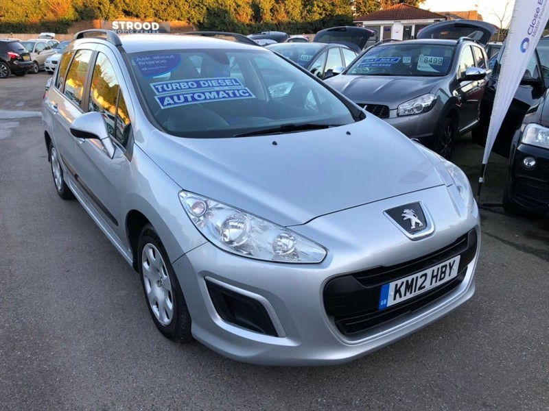used Peugeot 308 SW e-HDi Access EGC (s/s) 5dr in rochester-kent