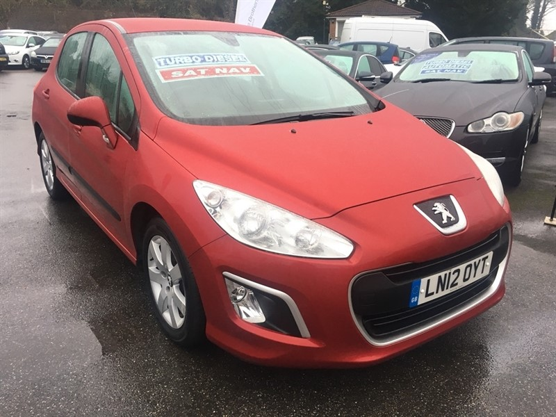 used Peugeot 308 HDi SR 5dr in rochester-kent
