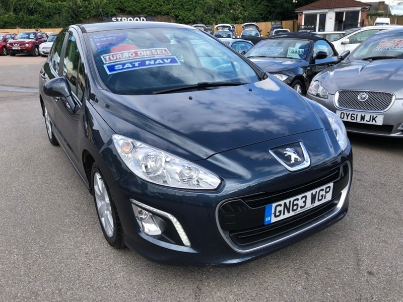 used Peugeot 308 HDi FAP Active 5dr (Nav) in rochester-kent