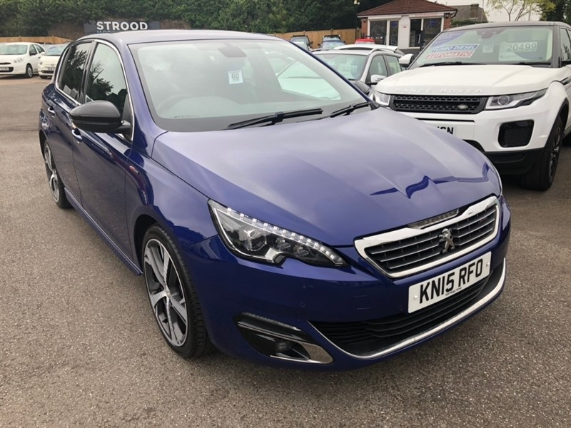 used Peugeot 308 HDi GT Line (s/s) 5dr in rochester-kent