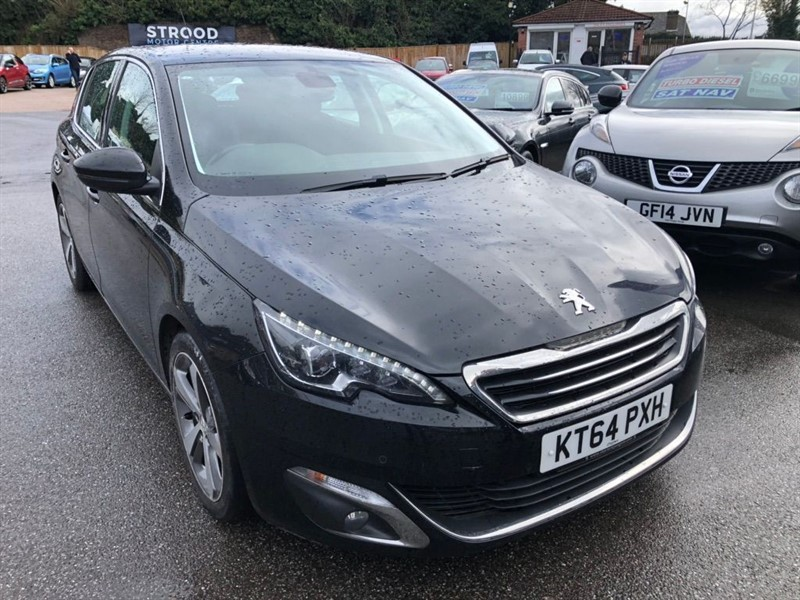 used Peugeot 308 BlueHDi Allure EAT6 (s/s) in rochester-kent