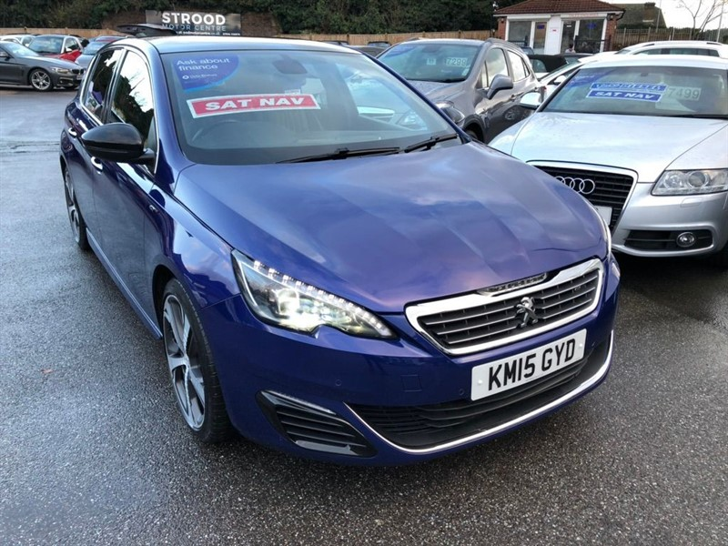 used Peugeot 308 GT (s/s) 5dr in rochester-kent
