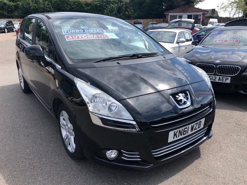 used Peugeot 5008 e-HDi FAP Active EGC 5dr in rochester-kent