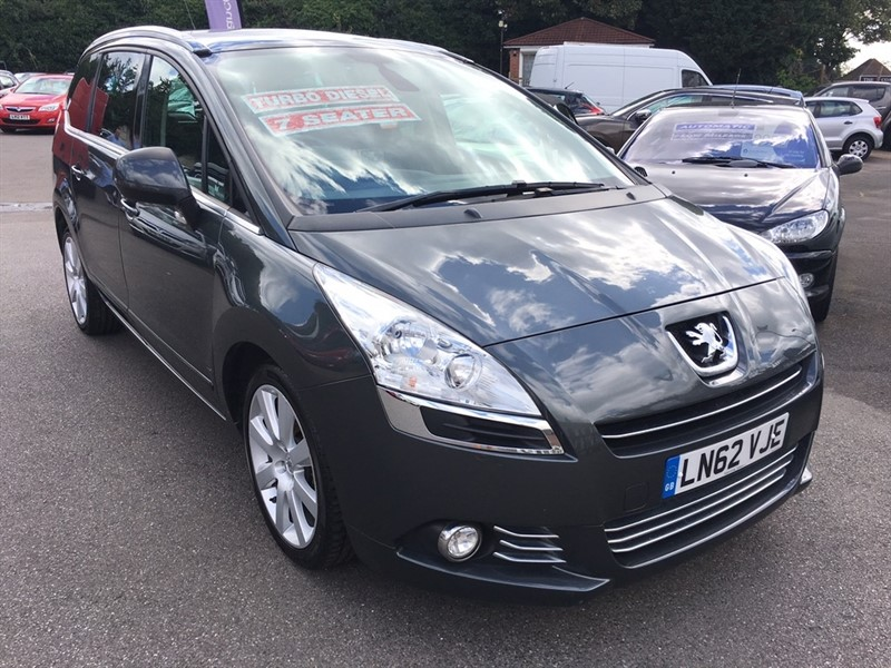 used Peugeot 5008 HDi FAP Allure 5dr in rochester-kent