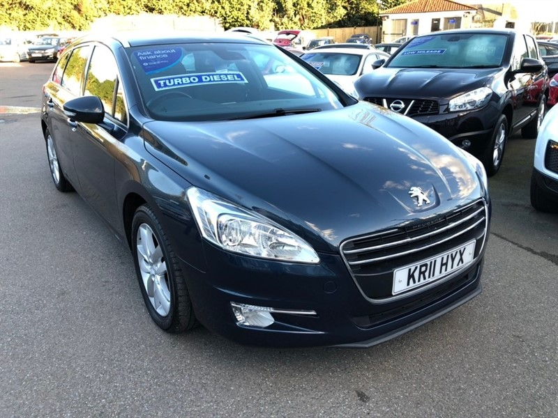 used Peugeot 508 SW HDi FAP Active 5dr in rochester-kent