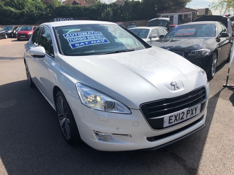 used Peugeot 508 HDi FAP GT 4dr in rochester-kent
