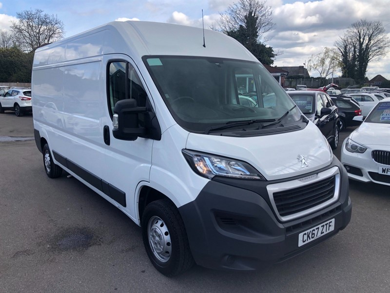 used Peugeot Boxer BlueHDi 335 Professional L3 H2 EU6 in rochester-kent