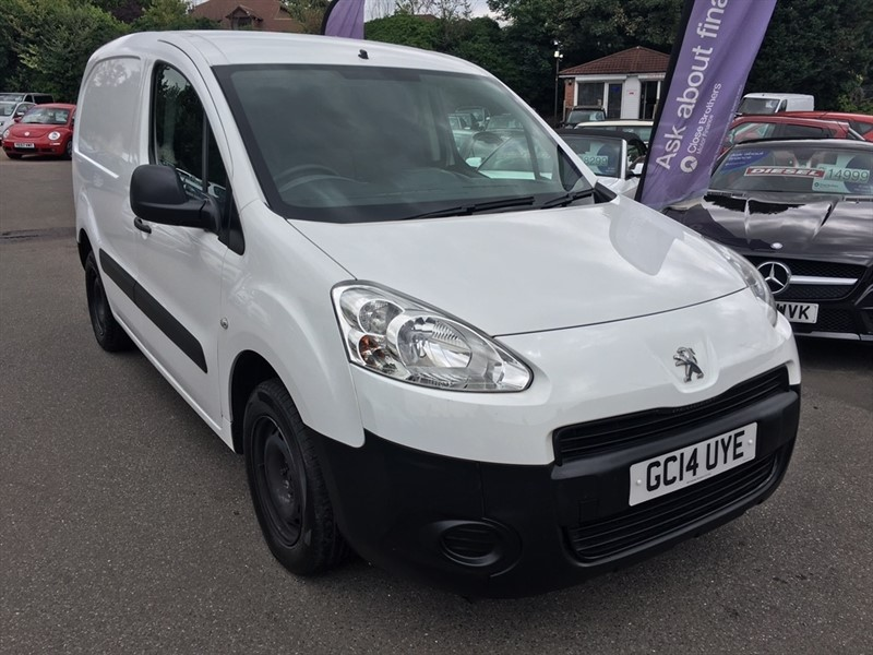 used Peugeot Partner HDi Professional L1 850 4dr in rochester-kent