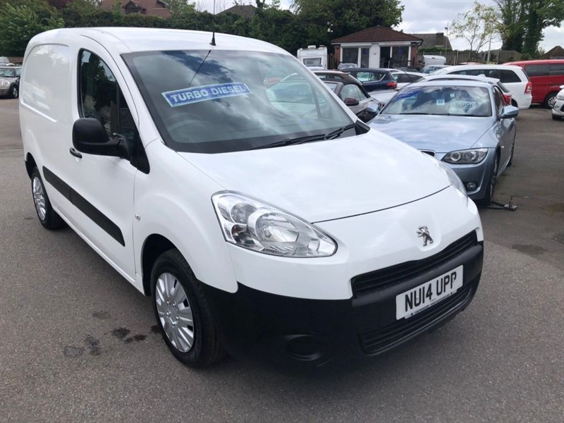 used Peugeot Partner HDi S L1 850 in rochester-kent