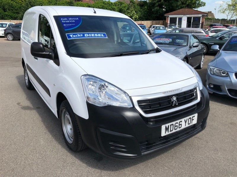 used Peugeot Partner BlueHDi (Eu6) S L1 856 in rochester-kent