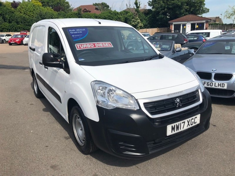 used Peugeot Partner BlueHDi S L2 in rochester-kent