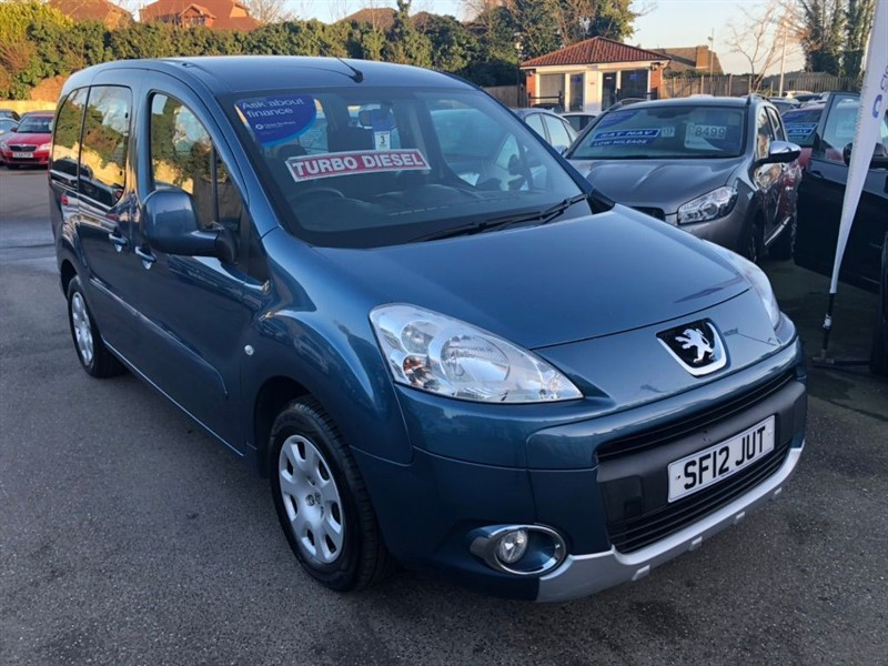 used Peugeot Partner Tepee HDi Tepee S 5dr in rochester-kent