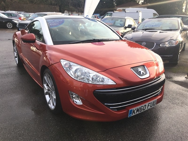 used Peugeot RCZ THP GT 2dr in rochester-kent