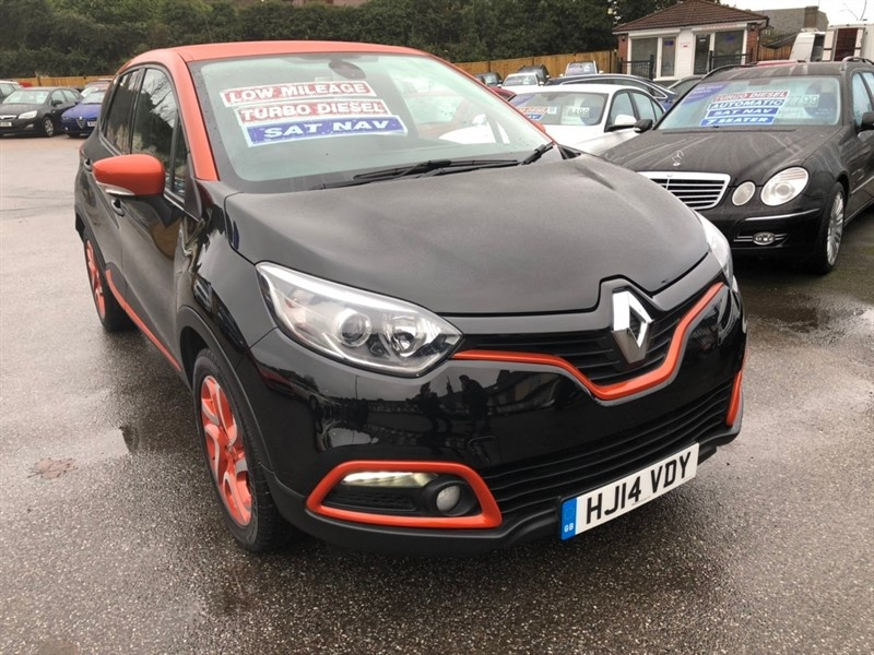 used Renault Captur dCi Dynamique S MediaNav (s/s) 5dr in rochester-kent