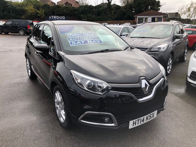 used Renault Captur Dynamique MediaNav EDC Auto in rochester-kent