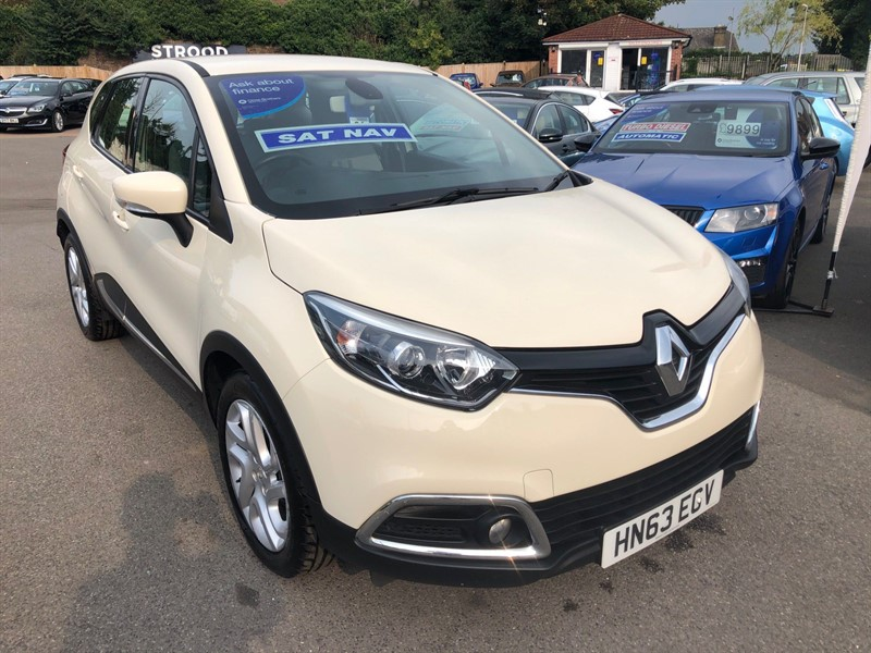 used Renault Captur TCe Dynamique MediaNav (s/s) in rochester-kent