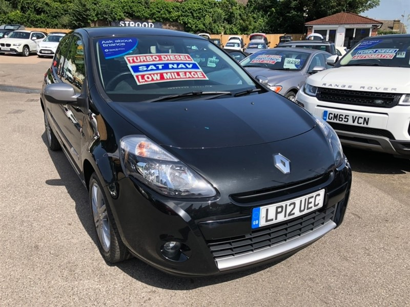 used Renault Clio dCi Dynamique 3dr (Tom Tom) in rochester-kent