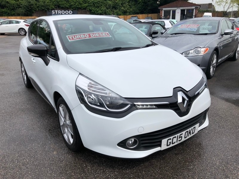 used Renault Clio dCi ENERGY Dynamique MediaNav (s/s) 5dr in rochester-kent
