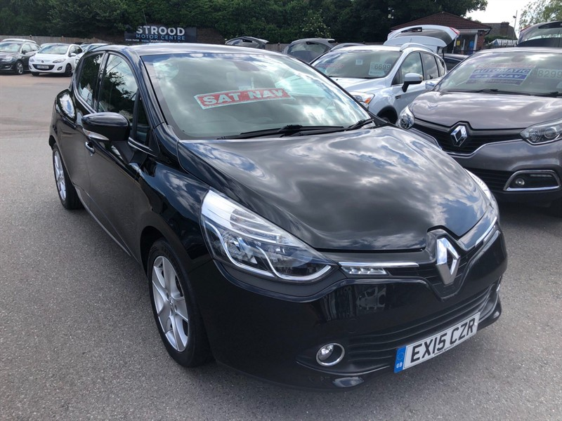 used Renault Clio 16V Dynamique MediaNav in rochester-kent