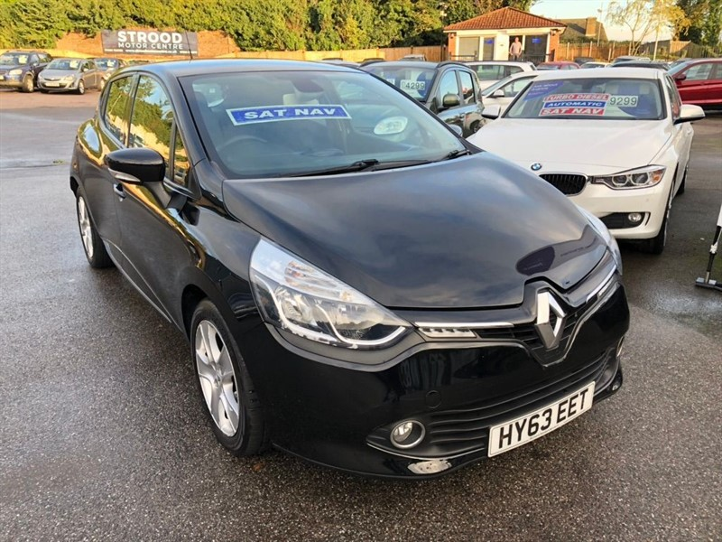used Renault Clio 16v Dynamique MediaNav 5dr in rochester-kent
