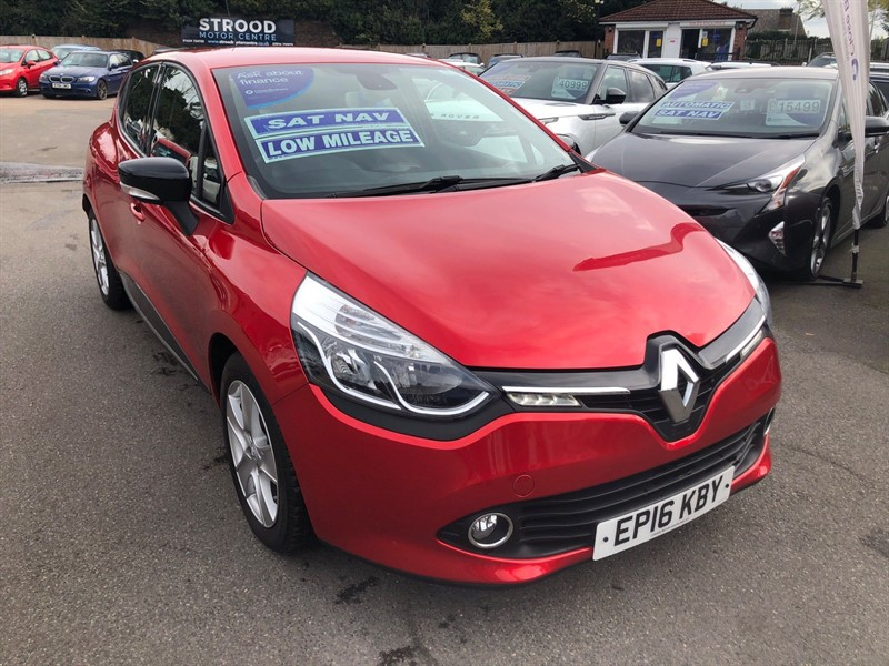 used Renault Clio 16v Dynamique Nav (s/s) in rochester-kent