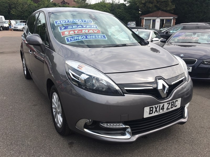 used Renault Grand Scenic TD Dynamique Tom (Bose+ pack) EDC Auto 5dr (Tom Tom) in rochester-kent