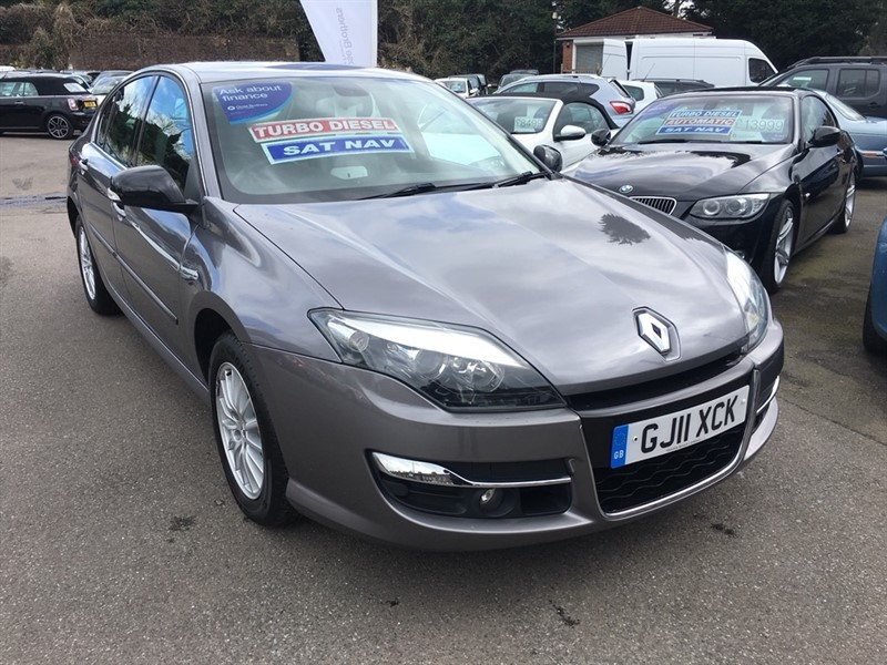 used Renault Laguna dCi FAP GT Line 5dr (Tom Tom) in rochester-kent