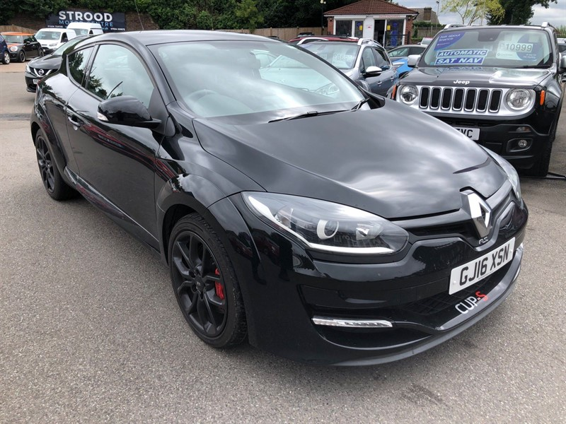 used Renault Megane Renaultsport Cup S (s/s) in rochester-kent