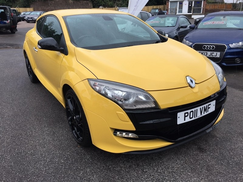 used Renault Megane Renaultsport Silverstone GP 2dr in rochester-kent