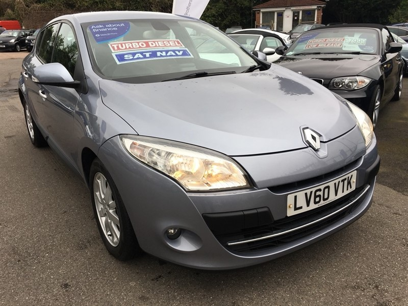 used Renault Megane dCi FAP Privilege 5dr (Tom Tom) in rochester-kent