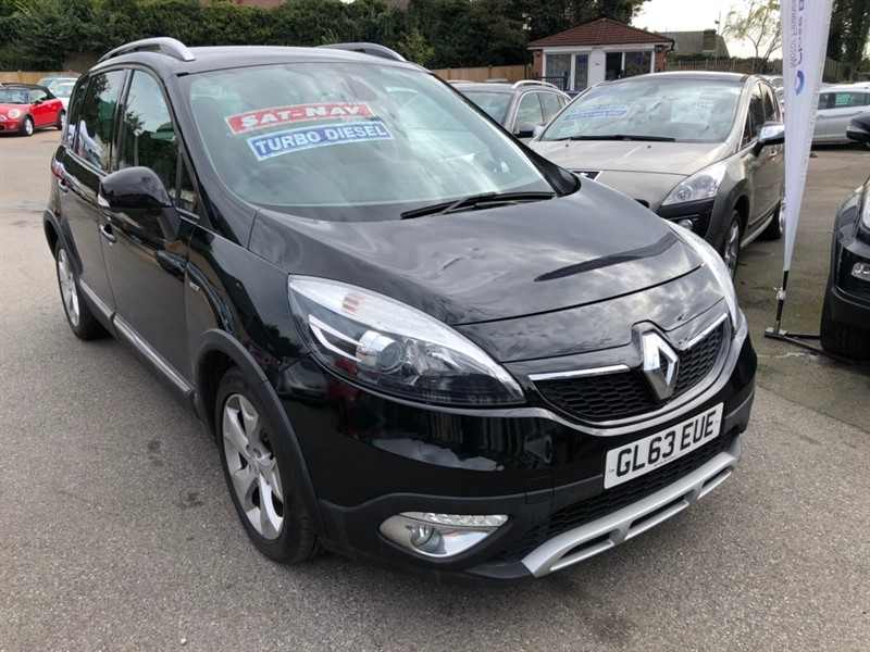 used Renault Scenic Xmod dCi Dynamique Tom (s/s) 5dr in rochester-kent
