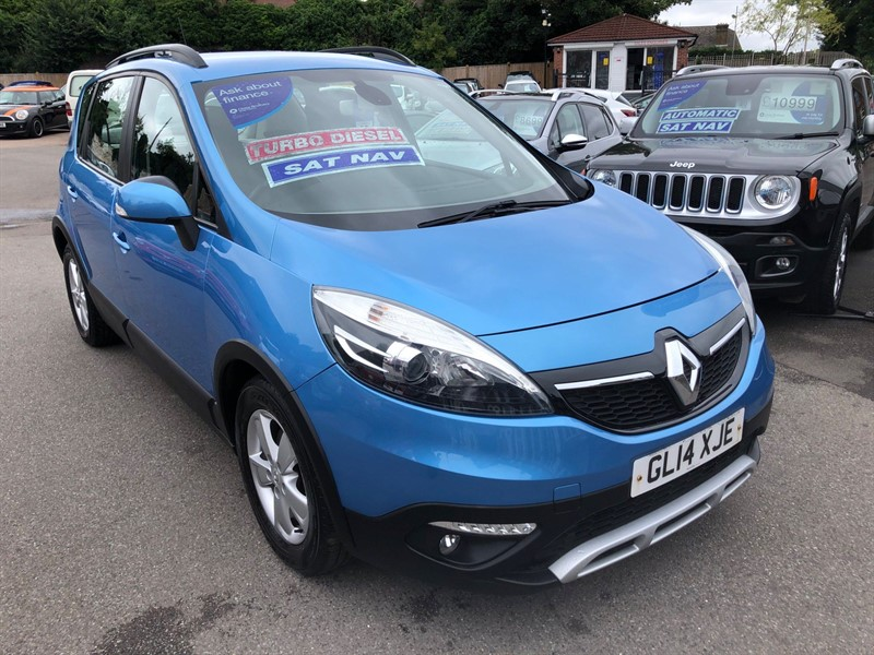 used Renault Scenic Xmod Dynamique Tom (s/s) in rochester-kent