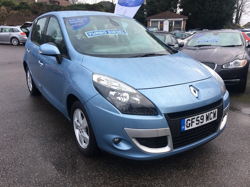 used Renault Scenic dCi Dynamique 5dr in rochester-kent