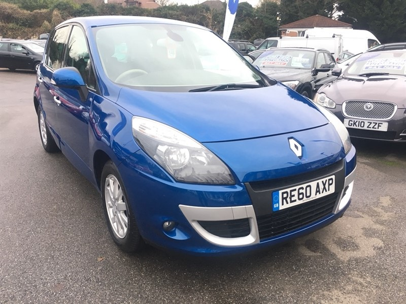 used Renault Scenic dCi FAP Privilege 5dr (Tom Tom) in rochester-kent