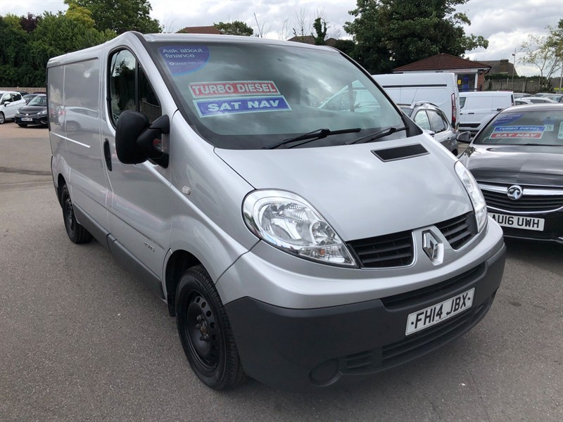 used Renault Trafic 27 Extra SWB Standard Roof in rochester-kent