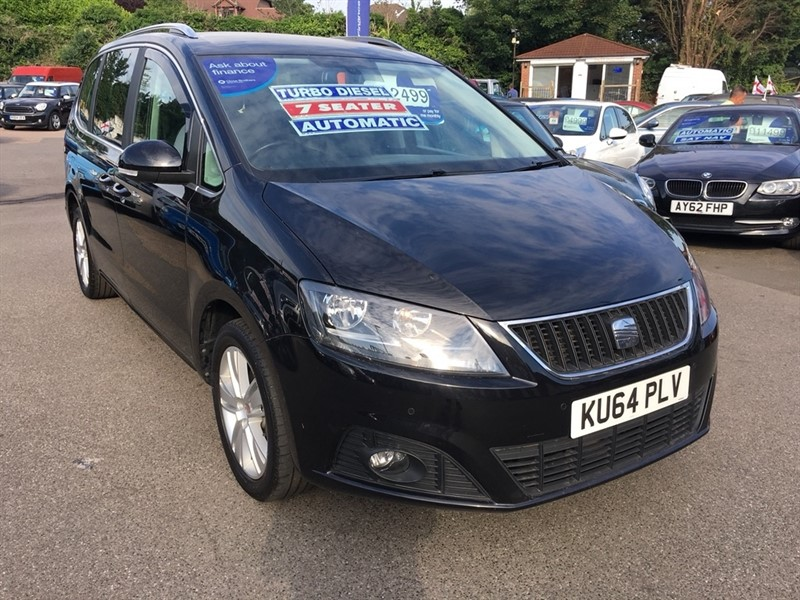 used SEAT Alhambra TDI SE DSG (s/s) 5dr in rochester-kent