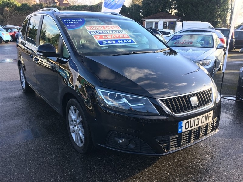 used SEAT Alhambra TDI SE Lux DSG 5dr in rochester-kent