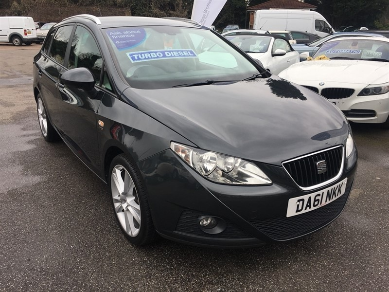 used SEAT Ibiza TDI Sportrider ST 5dr in rochester-kent