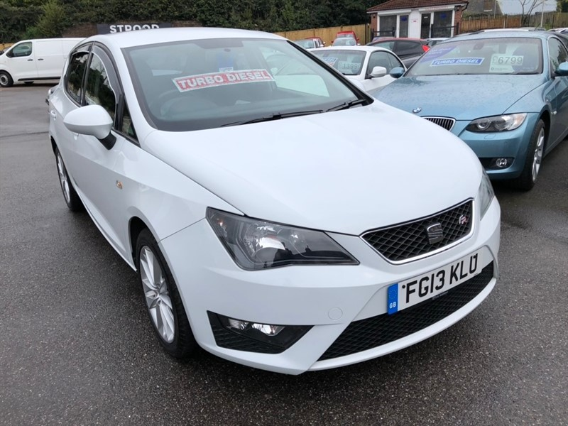 used SEAT Ibiza TDI CR FR 5dr in rochester-kent