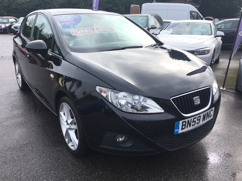 used SEAT Ibiza TDI CR Sport 5dr in rochester-kent