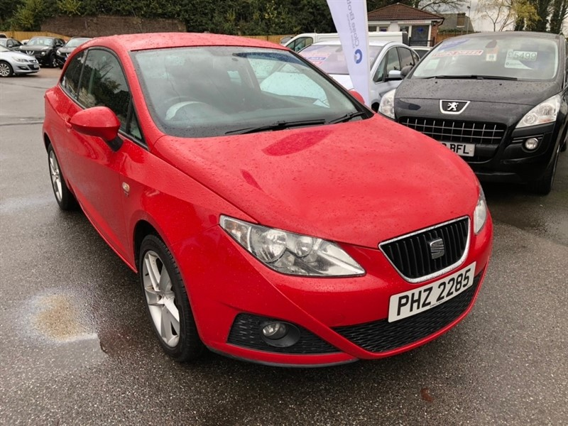 used SEAT Ibiza TDI CR Sportrider SportCoupe 3dr in rochester-kent