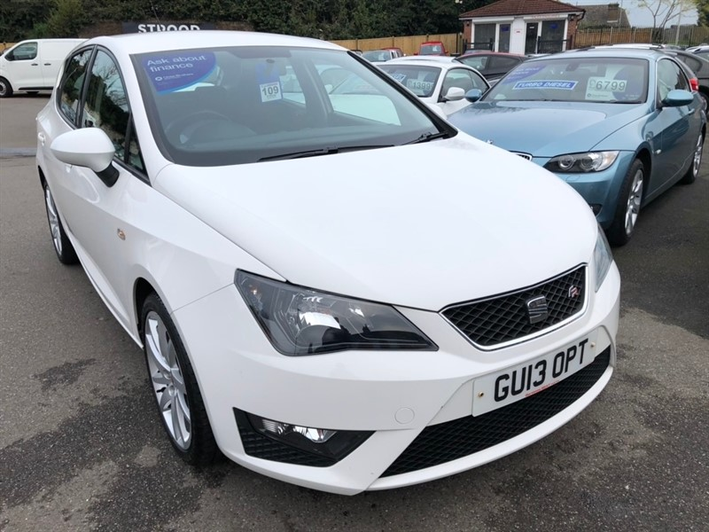 used SEAT Ibiza TSI FR 5dr in rochester-kent