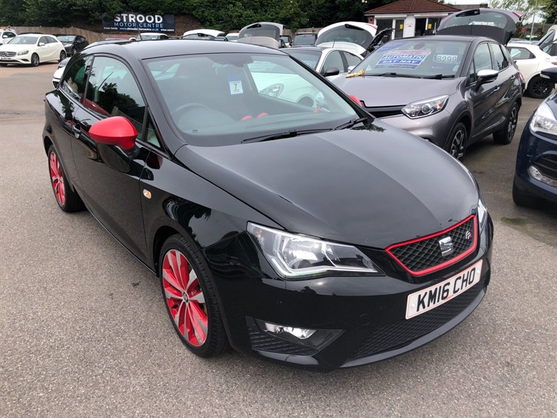 used SEAT Ibiza FR Red Edition SportCoupe in rochester-kent